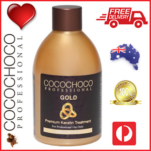 ❤❤ COCOCHOCO Pro GOLD Brazilian Keratin Hair Straightening Salon Treatment 250ml