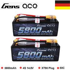 Gens Ace 5000mah 14 8v 50c 4s1p Hard Case Lipo Batteria Arrma Sworkz Gensace