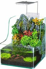 Presents The AquaTerrium Planting Tank - Grow Plants and Fish in one Environment
