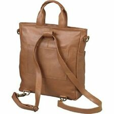"""Winn International"" HARNESS COWHIDE LEATHER CONVERTIBLE TOTE/BACKPACK"