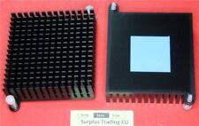 À ailettes Aluminium anodisé dissipateur de chaleur 55 x 57 x 18 mm Push-Pin