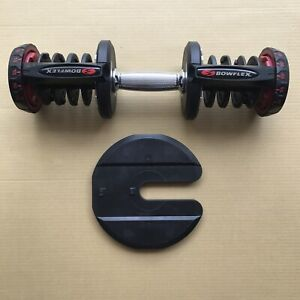 Single Bowflex SelectTech 1090 Dumbbell Replacement Handle + FREE plate READ