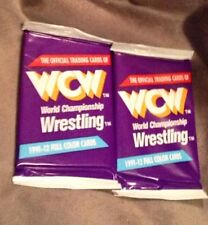 2 Packs of 1991 IMPEL WCW WRESTLING CARDS Sealed Free Shipping WWF WWE TNA NXT