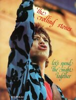 ROLLING STONES 1983 LET'S SPEND THE NIGHT TOGETHER CONCERT MOVIE PROGRAM-NM~MT