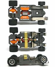 1982 Aurora AFX SUPER G+ G-PLUS Slot Car NARROW CHASSIS Bench Tested Round Mount