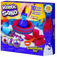 Kinetic Sand Sandisfying Set with 906g of Sand and 10 Tools 6047232