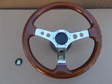 BMW AUTOTECNICA Wooden 3-Spoke Sports Steering Wheel 22/211CT Damaged