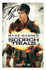 DYLAN O'BRIEN - MAZE RUNNER AUTOGRAPHED SIGNED A4 PP POSTER PHOTO