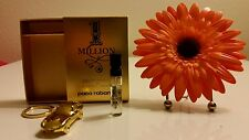 Paco Rabanne 1 Million .05 FL OZ (1.5 mL) Eau de Toilette Sample PLUS Key Ring