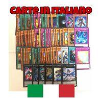 Yu Gi Oh! Lotto 50 carte + 6 carte XYZ tutte in ITALIANO - Sempre 3 carte Numero