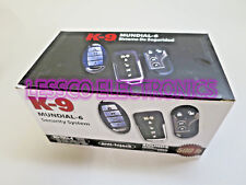 K9 Mundial-6 Deluxe Car Alarm System w/ Programmable Features +3 Remotes