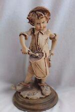 Vintage Giuseppe Armani Capodimonte Boy with Drum Figurine
