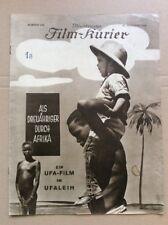 Als Dreijähriger durch Afrika (BFK 945, 1928) - Stummfilm / UFA