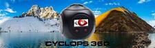 Cyclops Gear CG360 360 VR 4K HD Panoramic Camera Cam