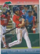 2017 Fort Myers Miracle Max Murphy RC Rookie Minnesota Twins