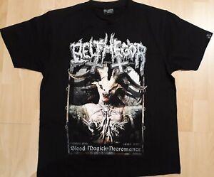 Belphegor - Blood Magick Necromance  T-Shirt Gr.L Top Zustand! Death Metal