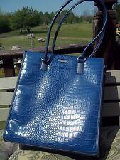 Vtg. Blue Targus Carry Case/Satchel/Handbag - for Laptop, Vinyl LP, Papers, Etc.