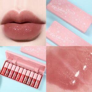 Transparent Cherry Lip Gloss Plumping Moisturizer Glitter Nutritious Liquid Oil
