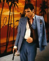 Al Pacino Signed 10X8 Photo Genuine Autograph SCARFACE AFTAL COA (D)