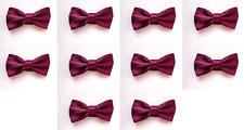 LOT OF 10 Blackberry Men's Adjustable Bowties/Bow tie Tuxedo Wedding