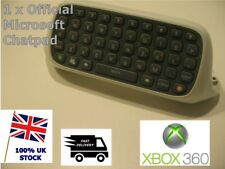 Xbox 360 Chatpad Clavier-Blanc Clip On-Official Microsoft-testé fonctionne