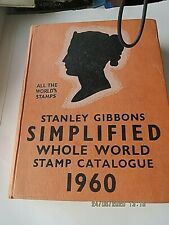 Vintage 1960 Stanley Gibbons London Whole World Simplified Stamp Catalogue