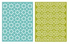 LIFESTYLE CRAFTS QUICKUTZ  TILE  GOOSEBUMPZ EMBOSSING FOLDERS  EF0028 A2