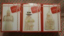 "Lenox ""Holiday Cheer Ornaments' - Set Of 3 Individual Boxes -New In Box"