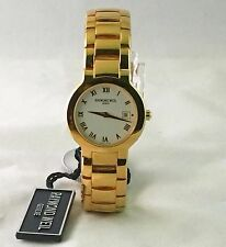 Raymond Weil 18k Gold Electroplated, sapphire Crystal Swiss made