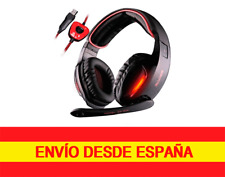 Sades SA-902  Sonido envolvente 7.1 Gaming Headset cancelación de ruido USB