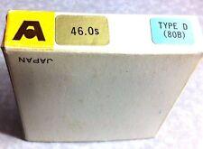 46mm 80B 80-B 80 B TYPE D Blue Glass Lens Filter 46 mm Japan AETNA