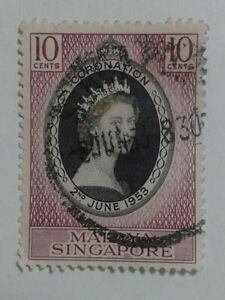 SINGAPORE STAMP - 10 CENTS