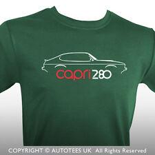 AUTOTEES T-SHIRT FOR CAPRI MK3 280 BROOKLANDS CAR ENTHUSIASTS
