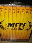 BOX COFANETTO 10 DVD I MITI DEL CALCIO BAGGIO PELE' MARADONA GULLIT ZICO CRUIJFF