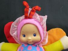 BABY IN BUTTERFLY COSTUME CRINKLY WING SWEET FUN PLUSH STUFFED ANIMAL TOY