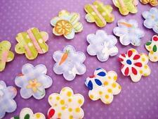 60 Easter Cotton Fabric Mix Print Flower Applique/trim/sewing/craft/rabbit H491