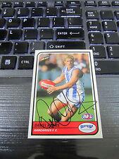 NORTH MELBOURNE - DANIEL HARRIS SIGNED AFL 2005 SELECT CARD