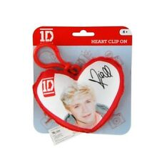 One Direction 'Niall' Plush Heart Shaped Backpack / School Bag /  Rucksack Clip