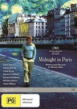 Midnight In Paris DVD TOP 1000 MOVIE Written & Directed WOODY ALLEN BRAND NEW R4