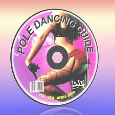 HOW TO POLE DANCE/DANCING LESSON EASY TUITION GUIDE DVD GOOD HEALTH/FITNESS NEW