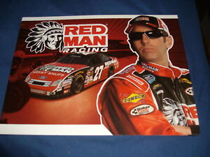 2010 GREG BIFFLE #27 RED MAN NASCAR POSTCARD