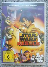 3 DVD´s Star Wars Rebels, komplette erste Staffel, sehr gut erhalten