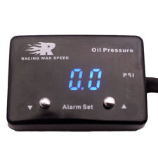 1/8 NPT Pressure Meter Oil Pressure Gauge Oil Press Guage With Sensor blue Light