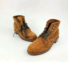 Men's Wolverine 1000 Mile Brown Suede Boots Made in USA Size 7.5  NEW FREE SHIP