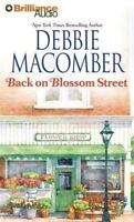 BACK ON BLOSSOM STREET bestselling audio CD by DEBBIE MACOMBER * FREE SHIPPING *