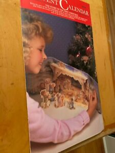 Vintage Halmark An Advent Calendar For You - The Story of the First Christmas BD