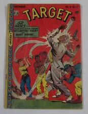 Target Comics Vol. 8 #10 (1st Print) 3.0 Gd/Vg Dec. 1947