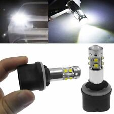 2X 6000K Bright White 880 884 White LED Fog Light Daylight Driving Lamp Bulb 12V