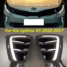 SX and SX Limited Only Fog Light Cover LED DRL For 2016 to 2017 Kia Optima