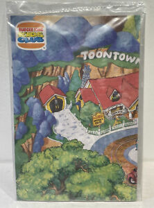 Burger King Mickey Mouse's Toontown Disneyland Map Kids Club Toy, New Sealed